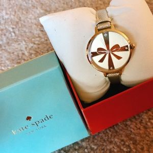 NEW IN BOX gold kate space watch